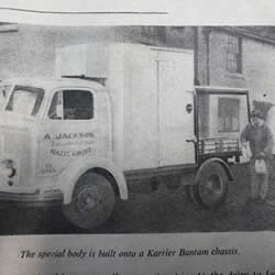 horse drawn milk float