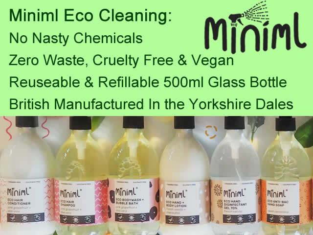 miniml eco cleaning